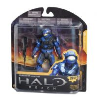 HALO REACH SERIES 3 - SPARTAN MILITARY POLICE CUSTOM (TEAM BLUE)